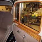 Window frame and door panel