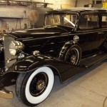 1933 Cadillac Towne Sedan that the moldings were for