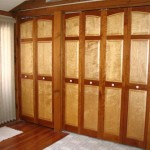 Cherry and Maple bifold doors