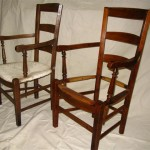 French reproduction chair