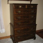 Walnut dresser