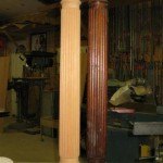 Beaded column