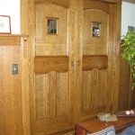 Mission pocket doors