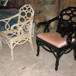 Reproduction arm chair