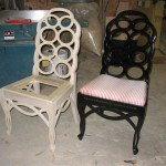Reproduction side chair
