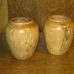 Spalted Maple vases