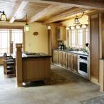 Mission style kitchen