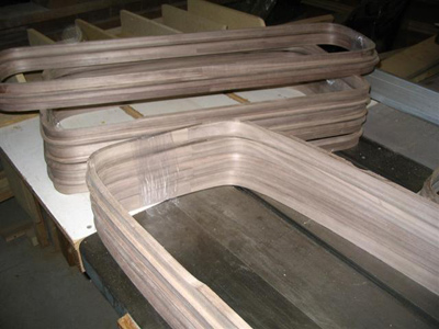 Custom Furniture and Fabrication » Bent Wood laminations
