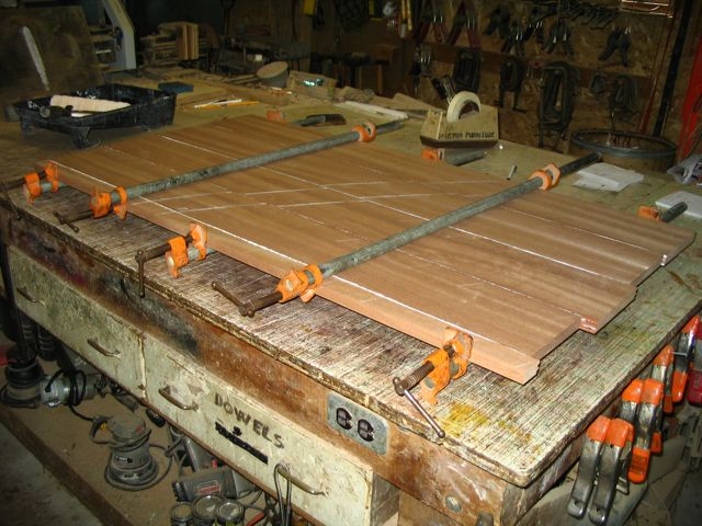 Custom Furniture And Fabrication 187 How To Glue Up Solid