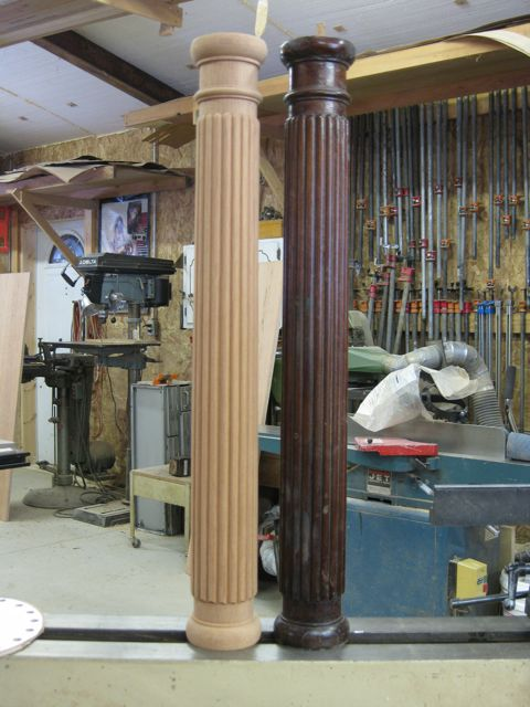 Custom Furniture And Fabrication 187 How To Make Fluted Or