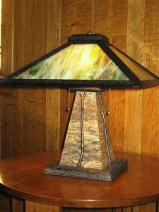 TL6 Rustic table lamp $445.00