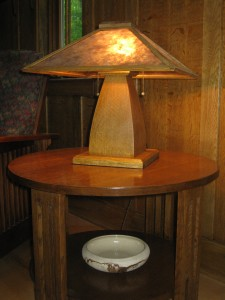 TL3 Mission table lamp $430.00