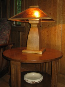 TL4 Mission table lamp $430.00