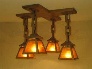ADK Craftsman Lighting 20x20x14 1/4