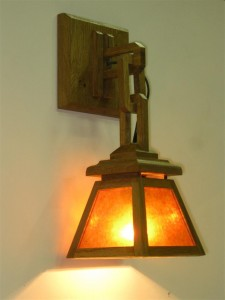 ADK Crafstman Lighting sconce 5x6x13