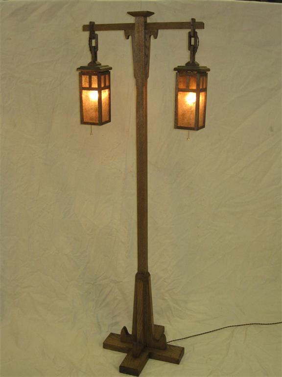 custom furniture and fabrication » adk adirondack craftsman lighting